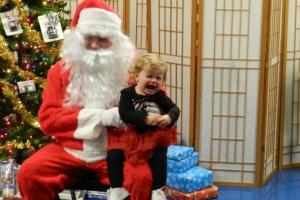 Beanie and Santa