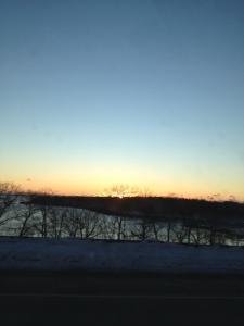 Sunrise over Pen Bay