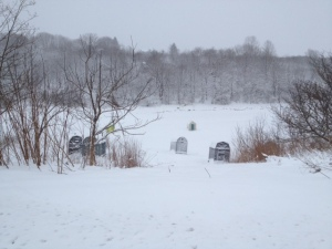 Snow Shacks