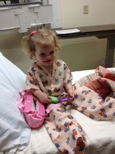 Loving the hospital jammies